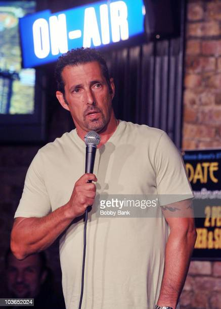 Rich Vos performs at The Stress Factory Comedy Club on August 26, 2010 in New Brunswick, New Jersey.