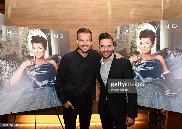 Rich Wilkerson Jr and director of Sales at Haute Living Frank Morales attend Westime Celebrates Kris Jenner's Haute Living Cover at Nobu Malibu on...
