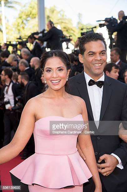 Richa Chadda and Guest attends at the 'Youth' Premiere during the 68th Cannes Film Festival