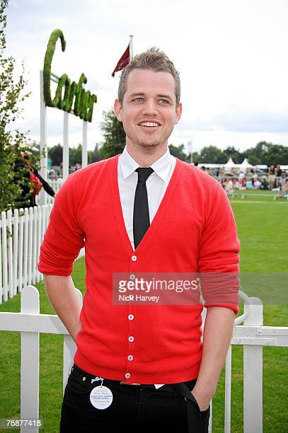 Richard Adamson at the Cartier International Polo at the Guards Polo Club on July 29 2007 Windsor England