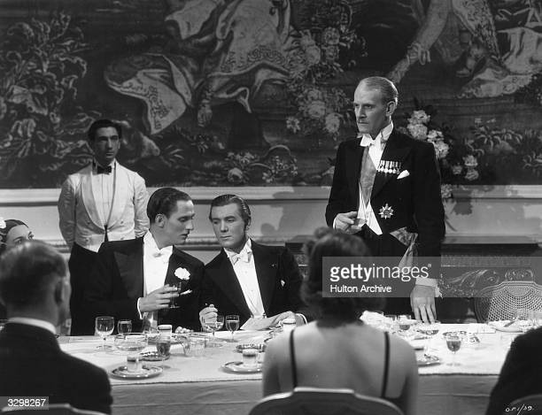 Richard Ainley and Michael Redgrave star in the Paramount film 'A Stolen Life' a story of exchanged identities directed by Paul Czinner