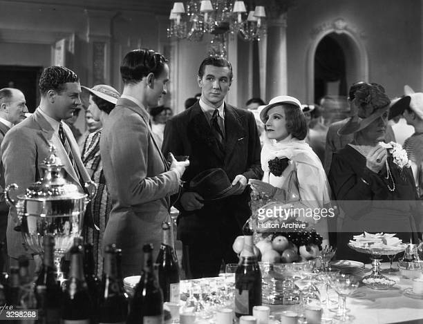 Richard Ainley Michael Redgrave Elisabeth Bergner and Kenneth Buckley star in the Paramount film 'A Stolen Life' a story of exchanged identities...