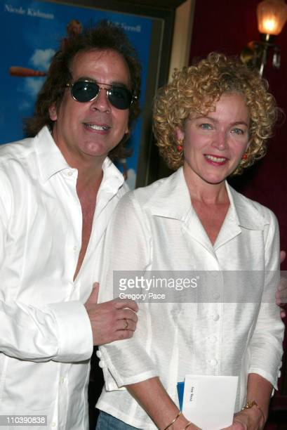 Richard Alexander and Amy Irving during Bewitched New York City Premiere Inside Arrivals at Ziegfeld Theater in New York City New York United States