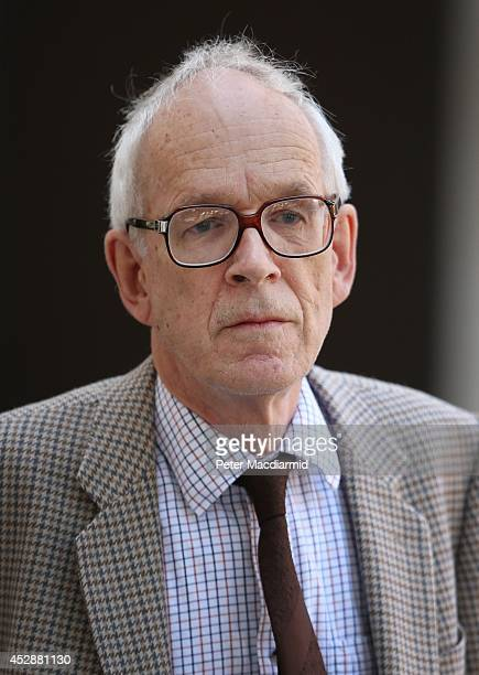 Richard Alston leaves The City of Westminster Magistrates Court on July 29, 2014 in London, England. Mr Alston, will face five counts of indecent...