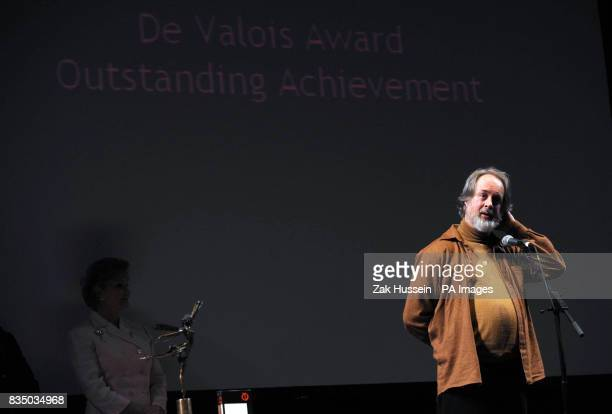 Richard Alston receives the De Valois Award for Outstanding Achievement in Dance at the Critics Circle National Dance Awards 2008 held at Sadler's...