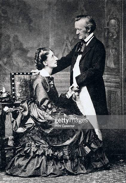 Richard and Cosima Wagner late 19th century Richard Wagner German composer conductor and essayist Cosima Wagner was the daughter of the virtuoso...