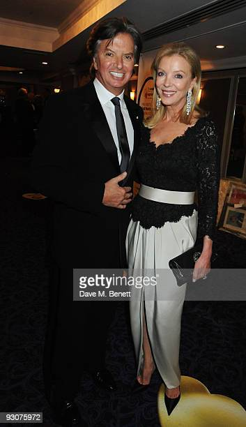Richard and Jackie Caring attend the Variety Club Showbiz Awards at the Grosvenor House on November 15 2009 in London England