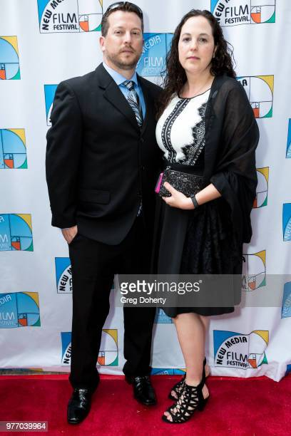 Richard and Janet Geer attend the 9th Annual New Media Film Festival at James Bridges Theater on June 16 2018 in Los Angeles California