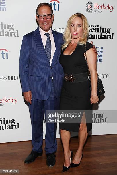 Richard and Joy Desmond attend London Evening Standards Progress 1000 at Science Museum on September 7 2016 in London England