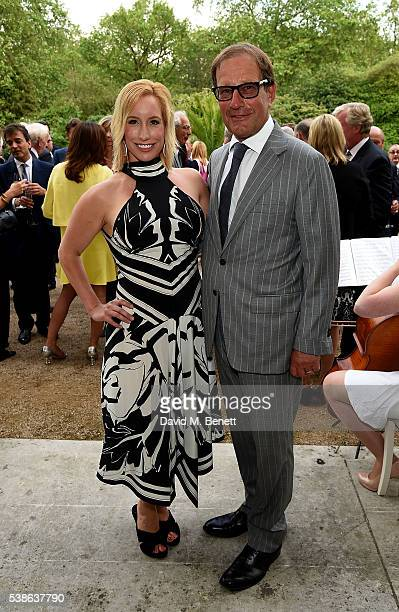 Richard and Joy Desmond attend The Bell Pottinger Summer Party at Lancaster House on June 7 2016 in London England