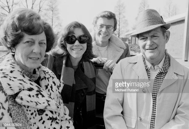 Richard and Karen Carpenter with their parents Amsterdam 1974