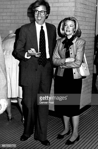 Richard and Mary Schaefer at Victor Borge's performance with the Denver Symphony Orchestra Credit The Denver Post