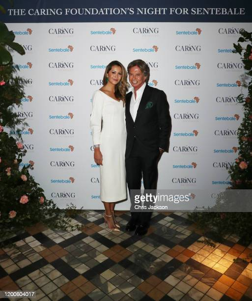 Richard and Patricia Caring attend as Sentebale held an event on January 19 hosted by Mr Mrs Caring on behalf of The Caring Foundation to raise funds...