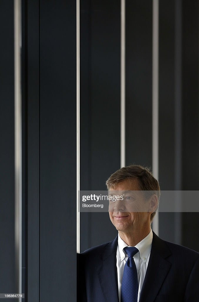 Richard Anderson, chief financial officer of Eurasia Drilling Co., poses for a photograph following a Bloomberg Television interview, in London, U.K., on Wednesday, Nov. 14, 2012. Eurasia Drilling Co., the largest Russian oilfield services company by market value, plans to expand into the Middle East and North Africa to diversify. Photographer: Simon Dawson/Bloomberg via Getty Images