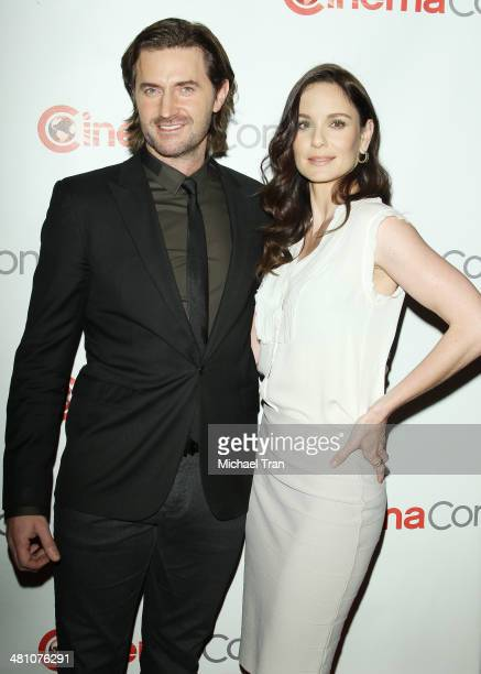 Richard Armitage and Sarah Wayne Callies attend Warner Bros. Pictures' The Big Picture, an Exclusive Presentation at Cinemacon 2014 - Day 4 held at...