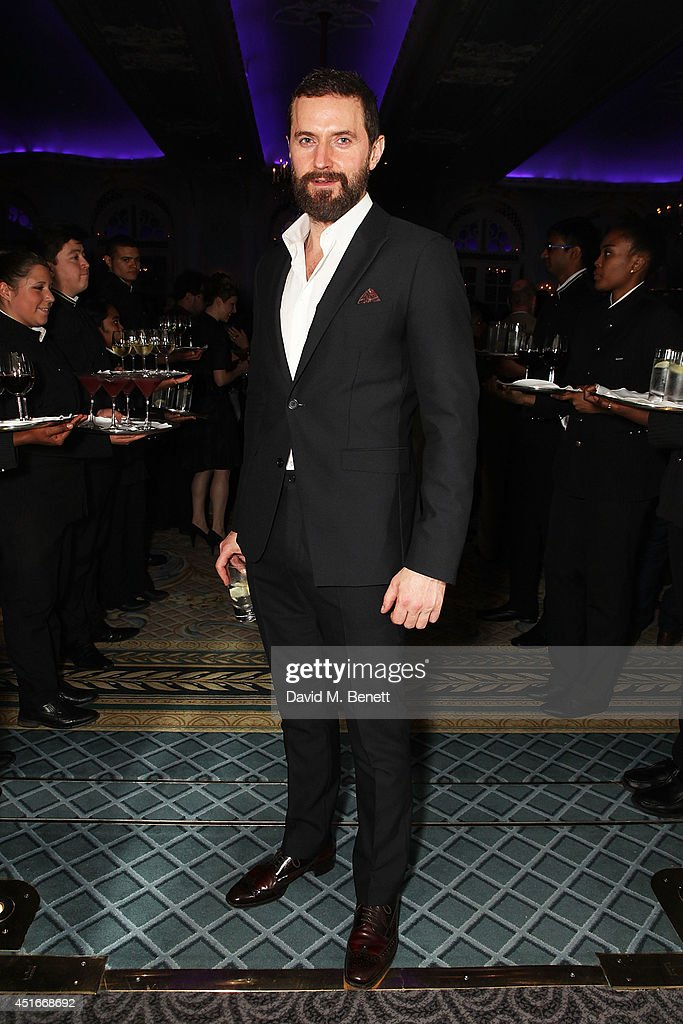 Richard Armitage attends an after party following the press night performance of 'The Crucible' at The Savoy Hotel on July 3, 2014 in London, England.