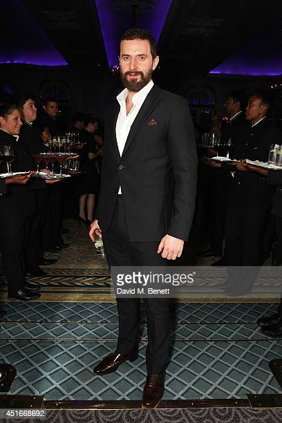 Richard Armitage attends an after party following the press night performance of The Crucible at The Savoy Hotel on July 3 2014 in London England