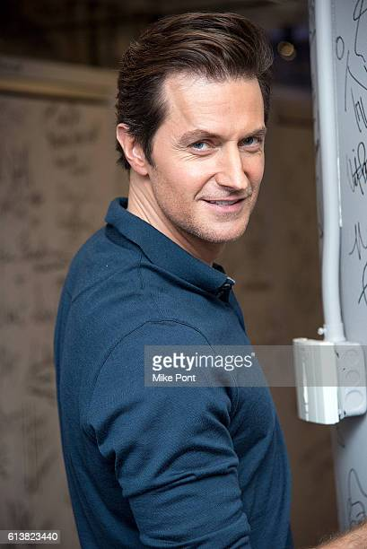 Richard Armitage attends the Build Series to discuss 'Berlin Station' at AOL HQ on October 10 2016 in New York City