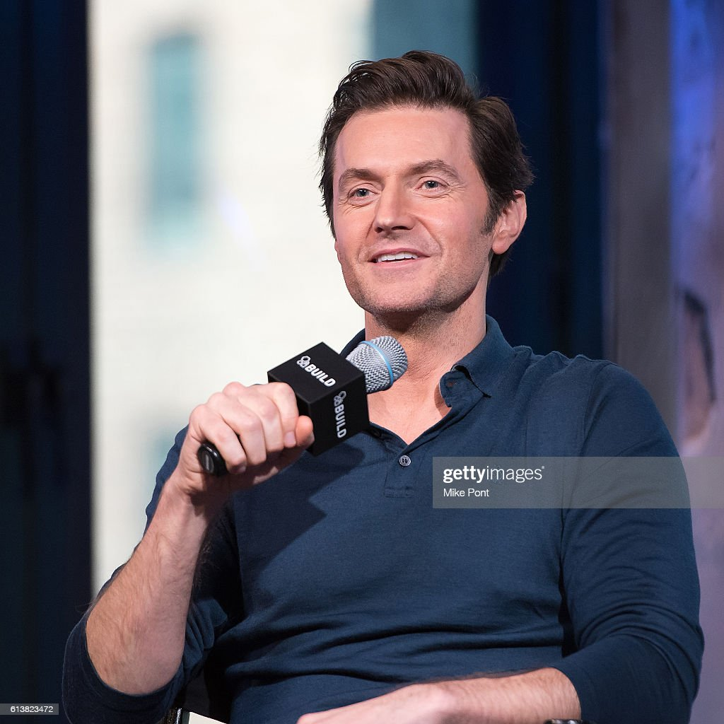 "The Build Series Presents Richard Armitage & Michelle Forbes Discussing The Spy Series ""Berlin Station"" : News Photo"