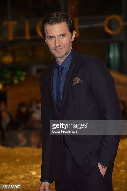 Richard Armitage attends the German premiere of the film 'The Hobbit: The Desolation Of Smaug' at Sony Centre on December 9, 2013 in Berlin, Germany.