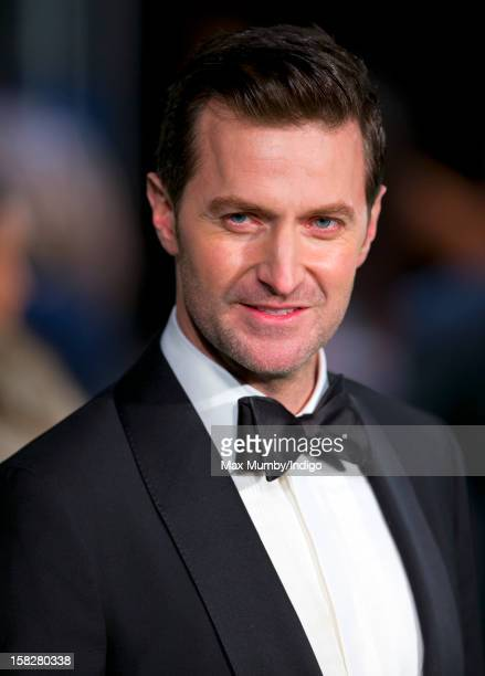 Richard Armitage attends the Royal Film Performance of 'The Hobbit An Unexpected Journey' at Odeon Leicester Square on December 12 2012 in London...