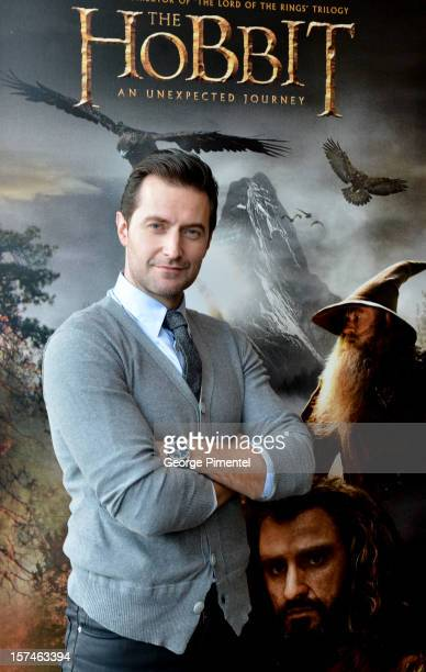 "Richard Armitage Of ""The Hobbit: An Unexpected Journey"" Photo Session at the Roots Flagship store on December 3, 2012 in Toronto, Ontario."