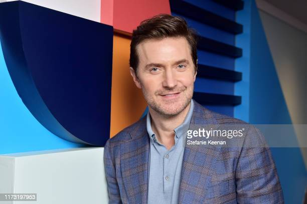 Richard Armitage stops by ATT ON LOCATION during Toronto International Film Festival 2019 at Hotel Le Germain on September 08 2019 in Toronto Canada