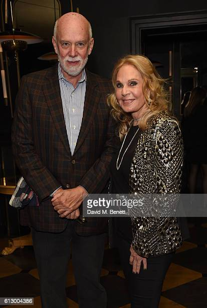 Richard Armstrong and Tiqui Atencio attend the launch of new book Could Have Would Have Should Have Inside The World Of The Art Collector By Tiqui...