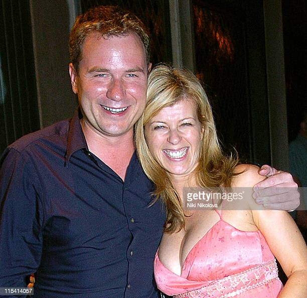 Richard Arnold and Kate Garraway during Kate Garraway Sighting at The Ivy in London August 17 2005 at The Ivy in London Great Britain
