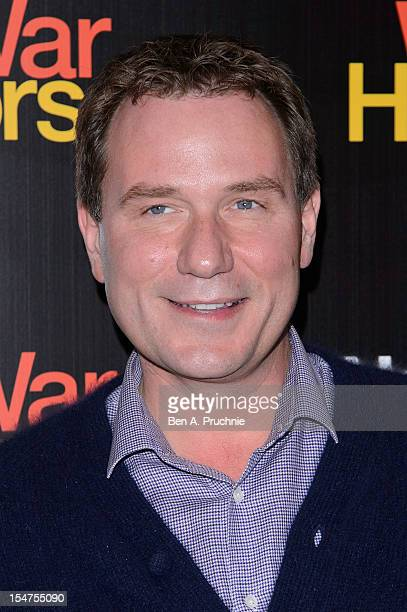 Richard Arnold attends the 5th anniversary performance of 'War Horse' at The New London Theatre, Drury Lane on October 25, 2012 in London, England.
