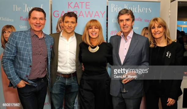 Richard Arnold Ben Shephard Kate Garraway John Stapleton and Lynn Faulds Wood attend the launch of Kate Garraway's new book The Joy Of Big Knickers...