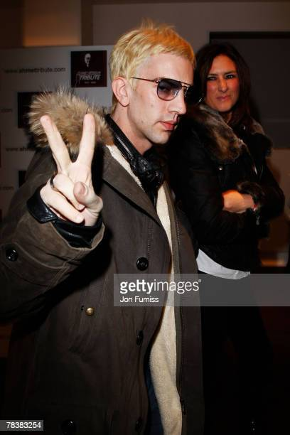 Richard Ashcroft of The Verve attends the Led Zeppelin Tribute To Ahmet Ertegun concert held at the O2 Arena on December 10 2007 in London England