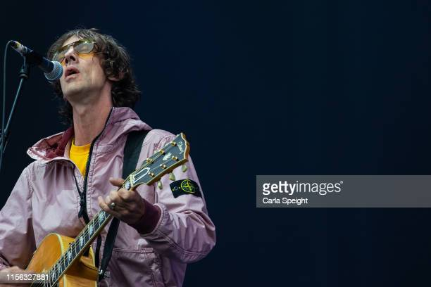 Richard Ashcroft performs on main stage during Isle of Wight Festival 2019 at Seaclose Park on June 16 2019 in Newport Isle of Wight
