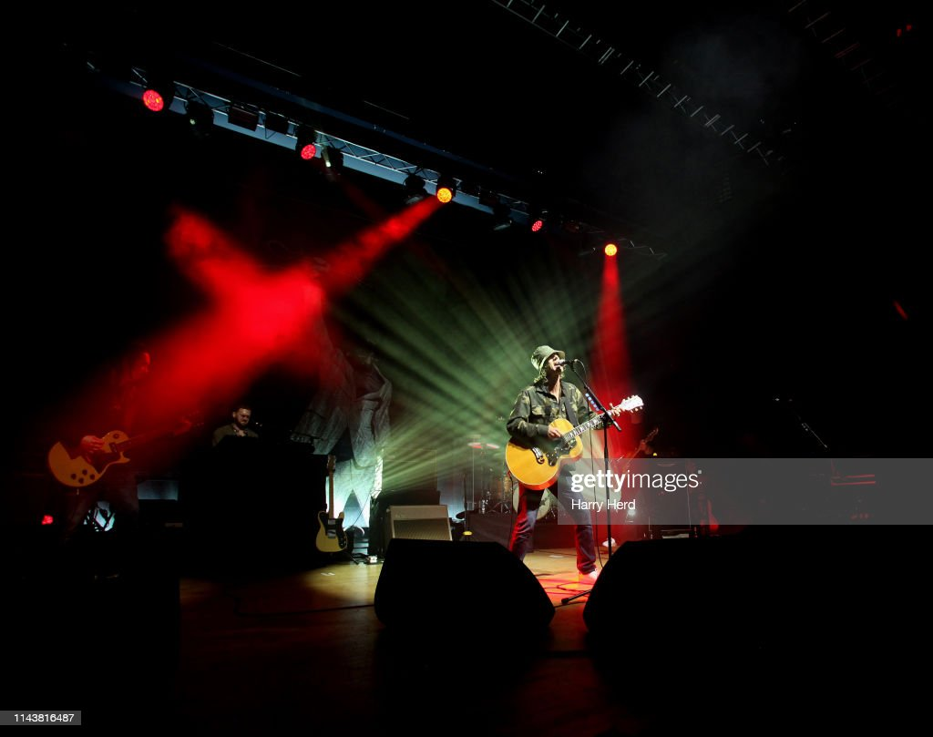GBR: Richard Ashcroft Performs At Portsmouth Guildhall