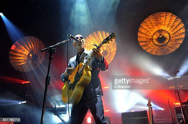 Richard Ashcroft performs on stage at the Roundhouse on May 16 2016 in London England