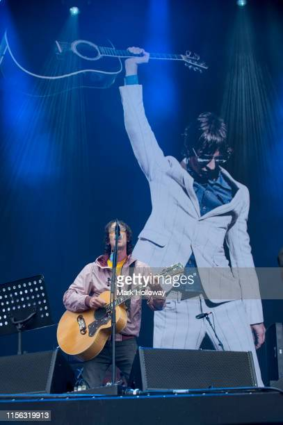 Richard Ashcroft performs on stage during Isle of Wight Festival 2019 at Seaclose Park on June 16 2019 in Newport Isle of Wight