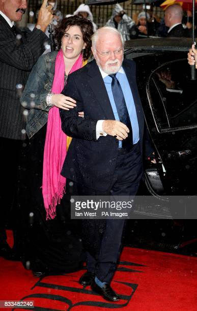Richard Attenborough attends The 32nd Annual Toronto International Film Festival 'Closing The Ring' Premiere at Roy Thomson Hall.