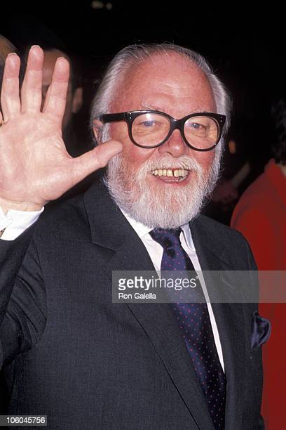 """Richard Attenborough during """"Miracle on 34th Street"""" New York Premiere at Radio City Music Hall in New York City, New York, United States."""