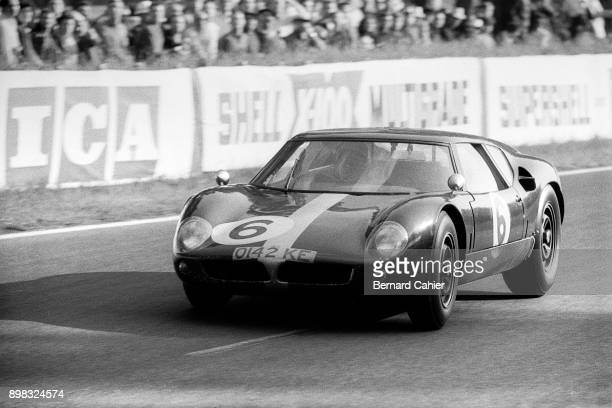 Richard Attwood David Hobbs LolaFord Mk6 GT 24 Hours of Le Mans Le Mans 16 June 1963