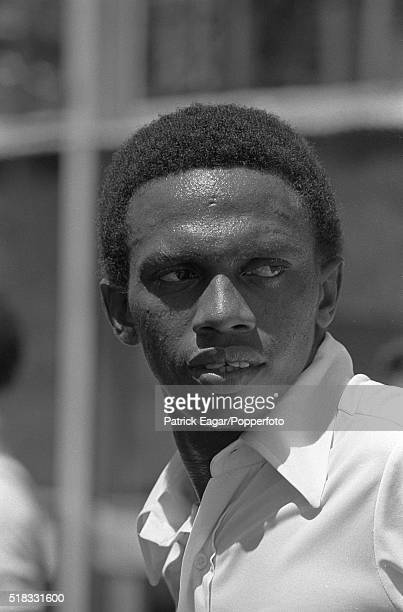 Richard Austin of West Indies before the 1st Test between West Indies and Australia at PortofSpain Trinidad 2nd March 1978
