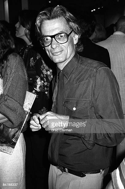 Richard Avedon at a gallery opening in Los Angeles, California. **EXCLUSIVE**