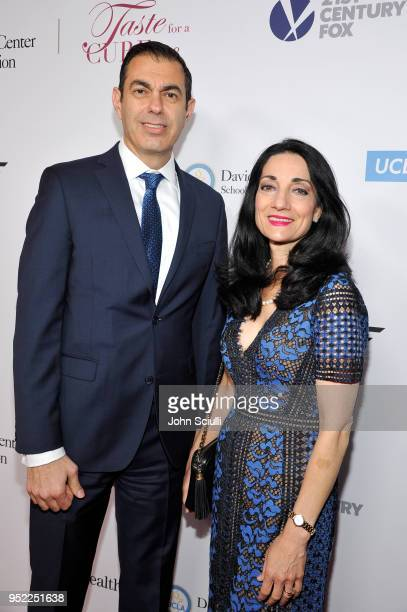 Richard Azar COO of UCLA and Johnese Spisso CEO of UCLA attend UCLA Jonsson Cancer Center Foundation Hosts 23rd Annual Taste for a Cure Event...
