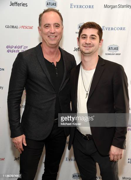 Richard B Handler Chairman of Jefferies Group and Hunter Handler attend Global Wildlife Conservation's Wild Night For Wildlife annual gala hosted by...