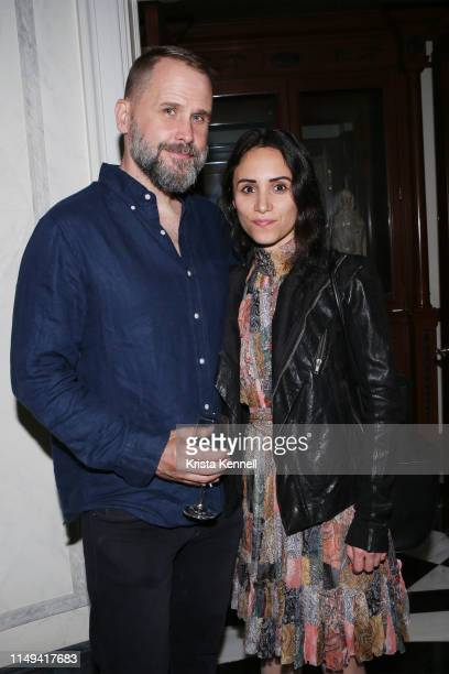 Richard Ballard and Elizabeth Shafiroff at Martin and Jean Shafiroff Host Cocktails for Surgeons of Hope at Private Residence on June 11 2019 in New...