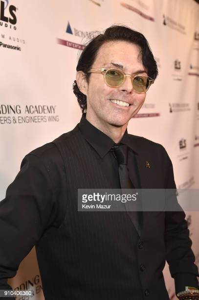 Richard Barone attends the Producers and Engineers Wing 11th Annual GRAMMY Week event honoring Swizz Beatz and Alicia Keys at The Rainbow Room on...
