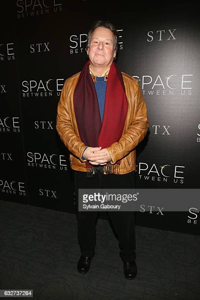 """Richard Barton Lewis attends STX Entertainment with The Cinema Society Host a Screening of """"The Space Between Us"""" on January 25, 2017 in New York..."""