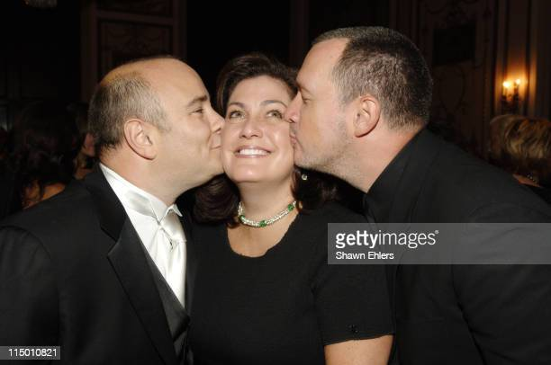 Richard Beckman, Connie Ann Phillips and Guest during American Cancer Society and Cosmetic Industry's DreamBall at Waldorf Astoria in New York City,...