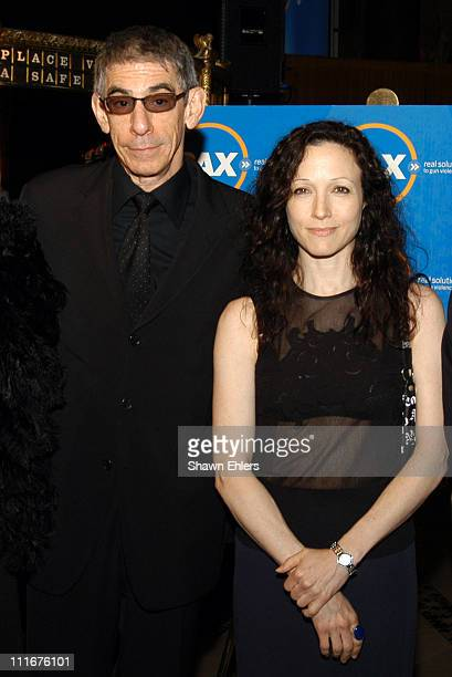 Richard Belzer and Bebe Neuwirth during PAX Benefit Gala 2004 at Cipriani in New York City New York United States
