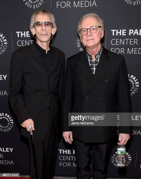 Richard Belzer and producer Barry Levinson attend The Paley Center For Media Presents Homicide Life On The Street A Reunion at The Paley Center for...