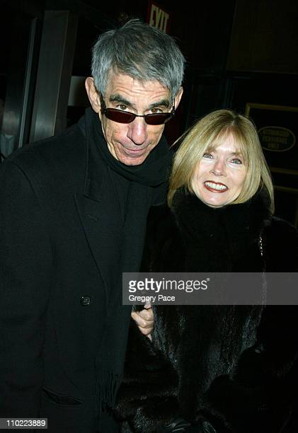 Richard Belzer and wife Harlee McBride during Raging Bull 25th Anniversary and Collector's Edition DVD Release Celebration Inside Arrivals at...